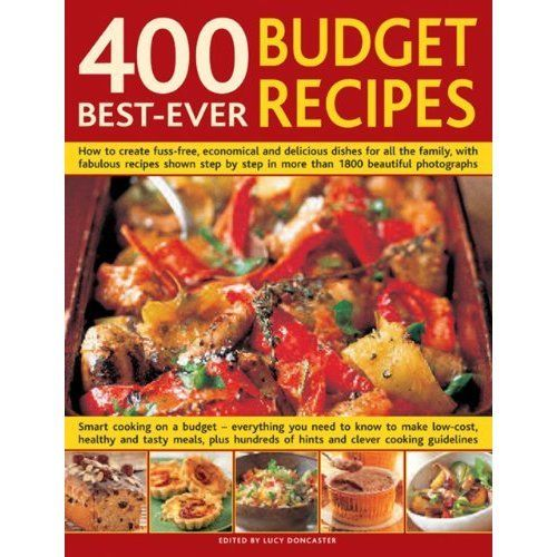 400 Best Ever Budget Recipes by Lucy Doncaster 0754817709