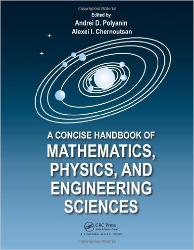 A Concise Handbook of Mathematics Physics and Engineering Sciences 143980639X US ED
